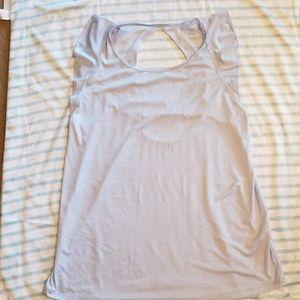 Calia, light blue, open back detail tank, large